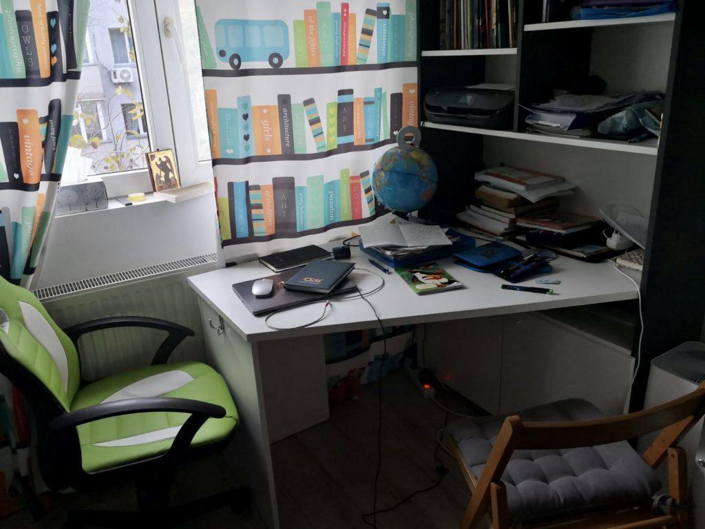 birou work from home mama