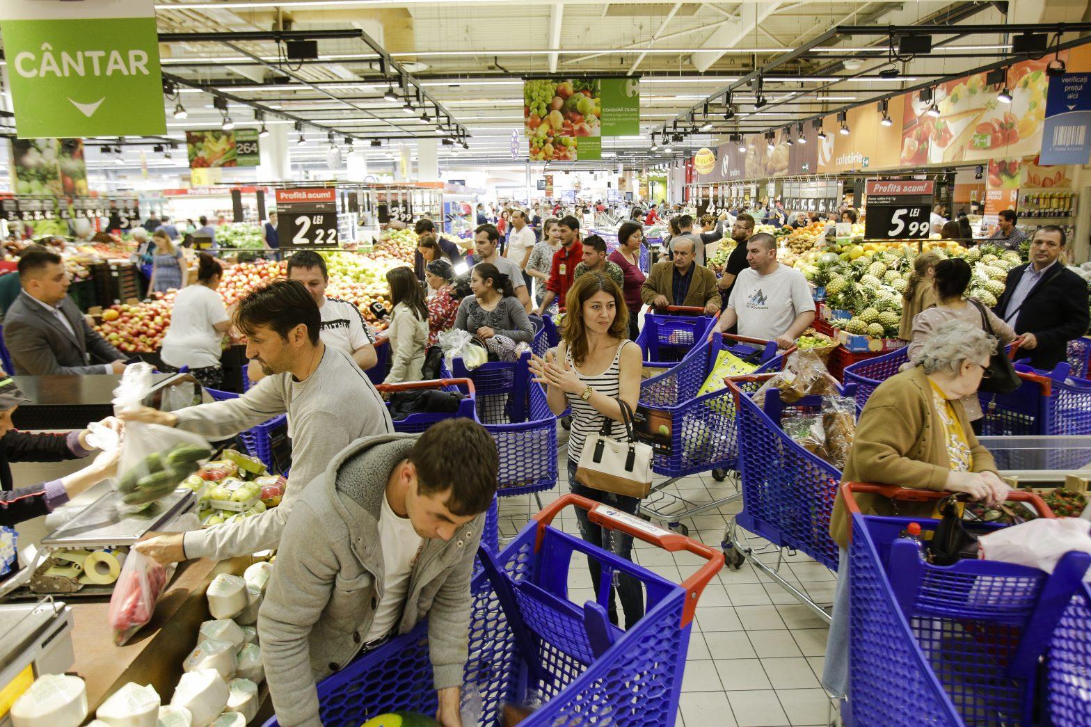 consum romania economie