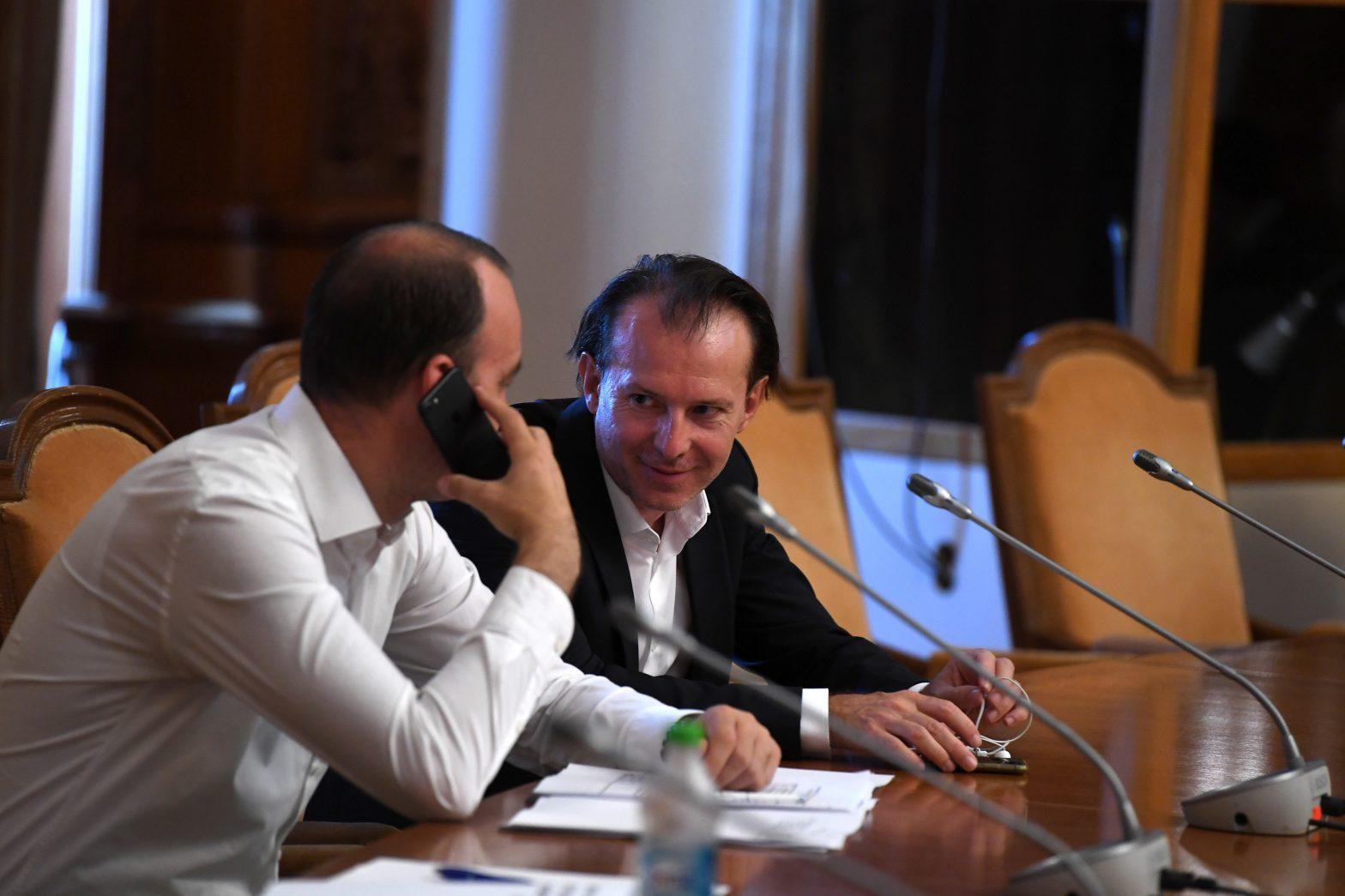 Premierul Florin Cîțu a intrat în politică în urmă cu cinci ani. FOTO: Agerpres