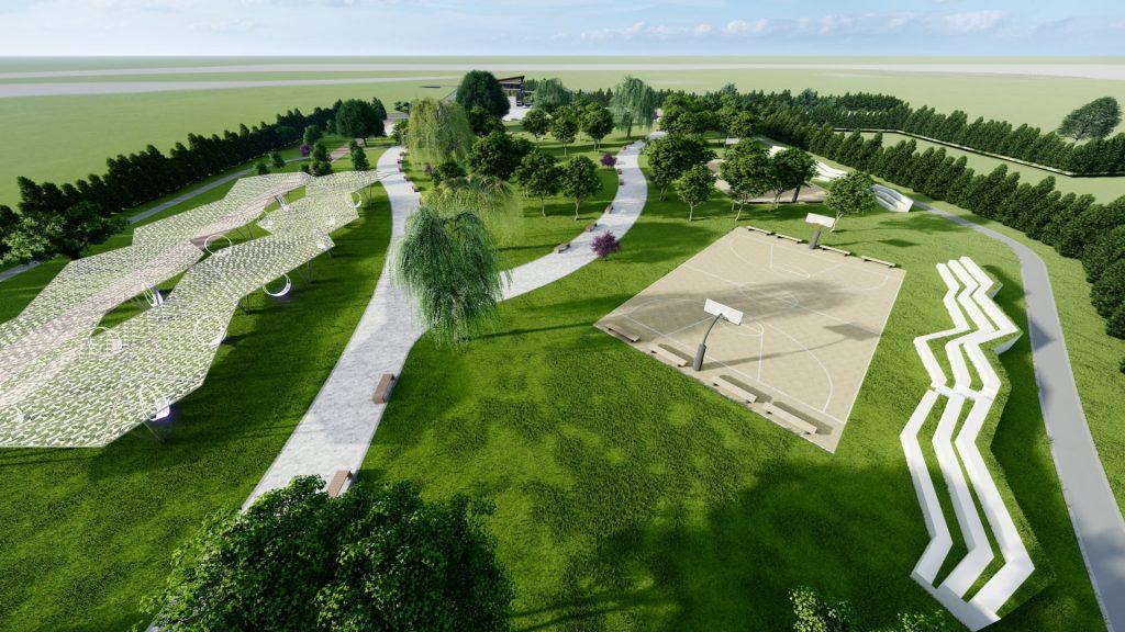 Proiectul Liniei promite și terenuri de sport și spații de recreere